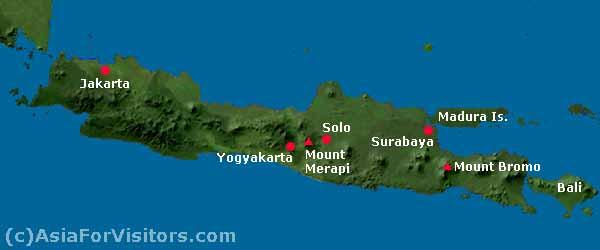 Pulau Jawa terpadat di dunia