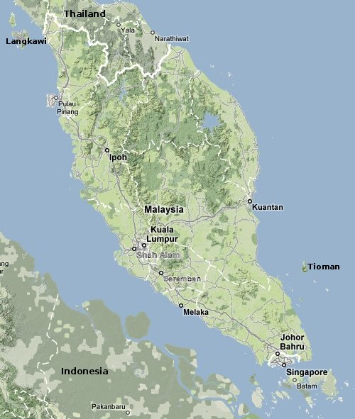 Peninsular Malaysia - Asia for Visitors